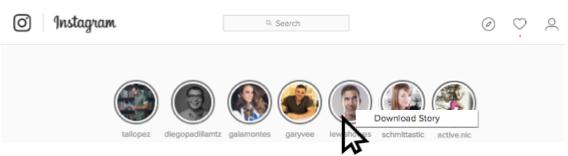 Cómo descargar historias de Instagram o instagram stories