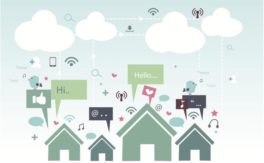 Hacer negocios desde casa redes sociales